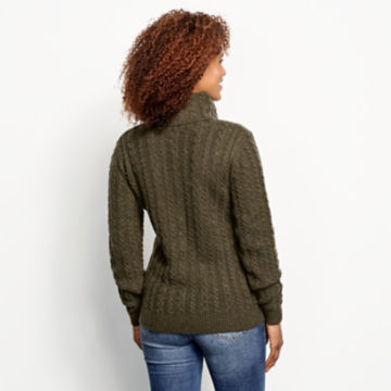 Donegal Cable Turtleneck Sweater -  image number 2