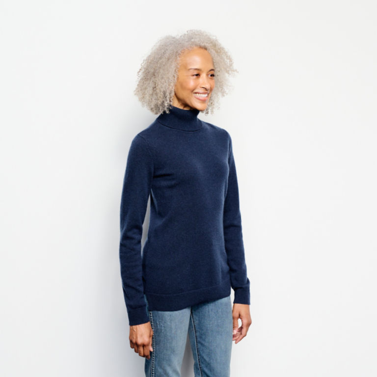 Classic Cashmere Turtleneck Sweater -  image number 1