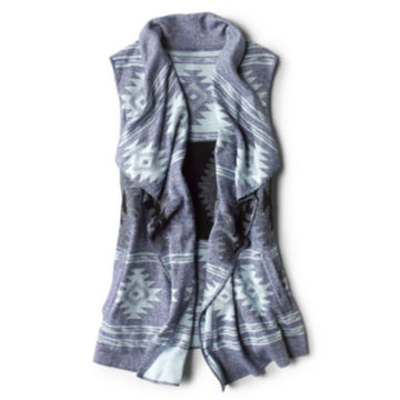 Canyon Lands Sweater Vest - NAVY MULTI image number 0