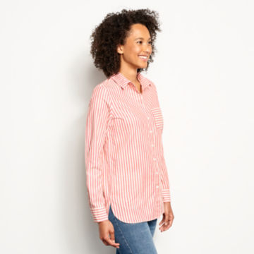 Lightweight Striped Oxford Tunic -  image number 1