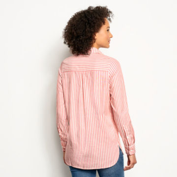Lightweight Striped Oxford Tunic -  image number 2