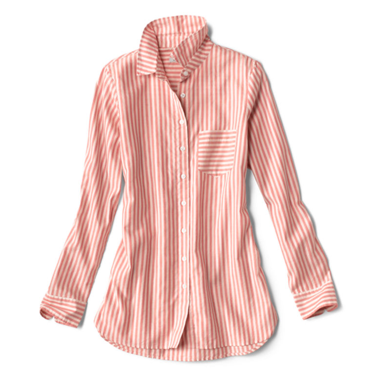 Lightweight Striped Oxford Tunic -  image number 4