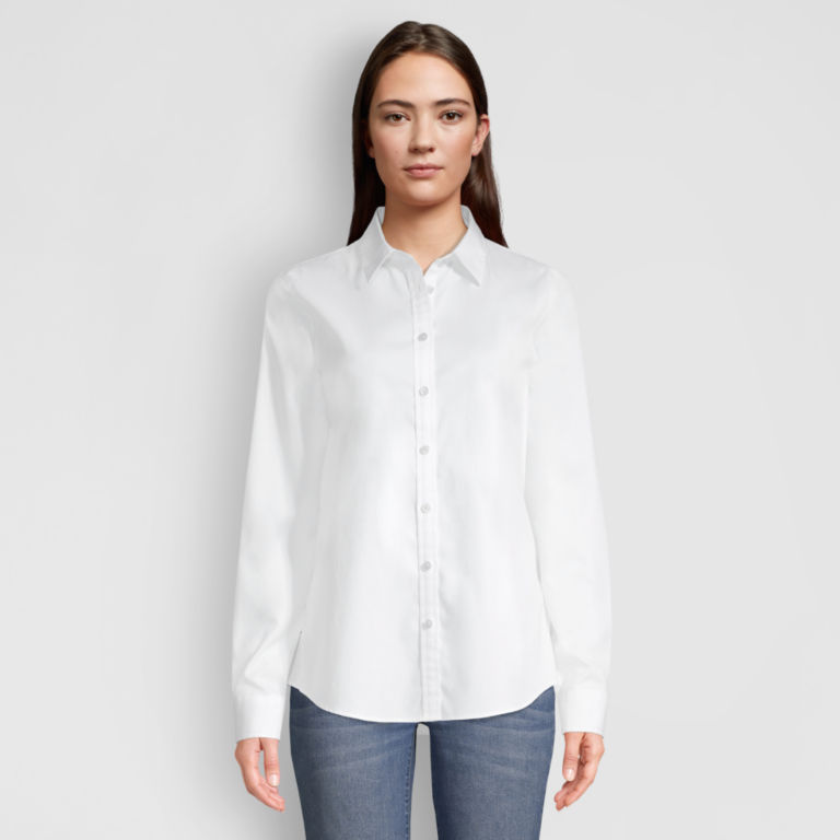 Wrinkle-Free Classic Shirt - WHITE image number 0