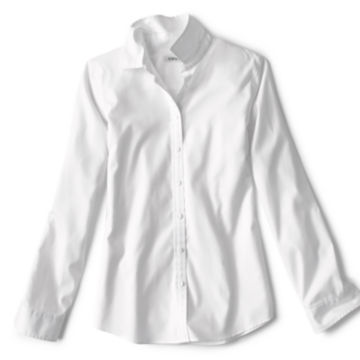 Wrinkle-Free Classic Shirt - WHITE image number 4