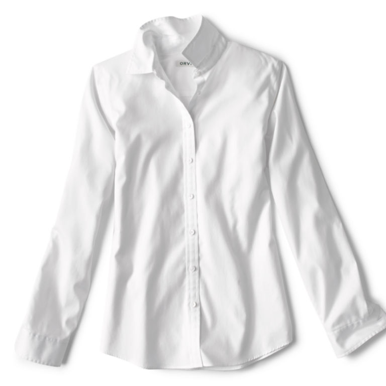 Wrinkle-Free Classic Shirt - WHITE image number 3