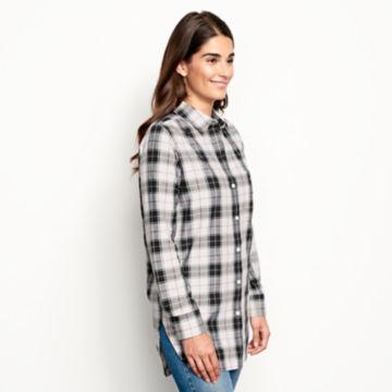 Wrinkle-Free Plaid Tunic Shirt -  image number 2