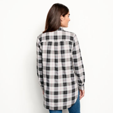 Wrinkle-Free Plaid Tunic Shirt -  image number 3
