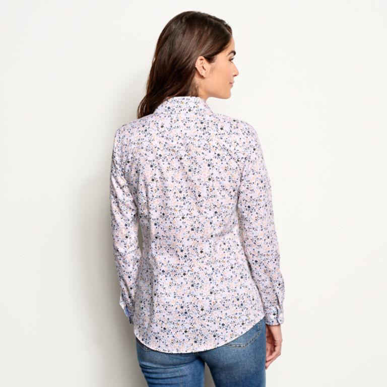 Wrinkle-Free Patterned Shirt -  image number 2