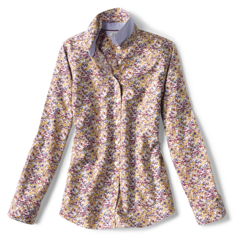 Wrinkle-Free Patterned Shirt -  image number 5