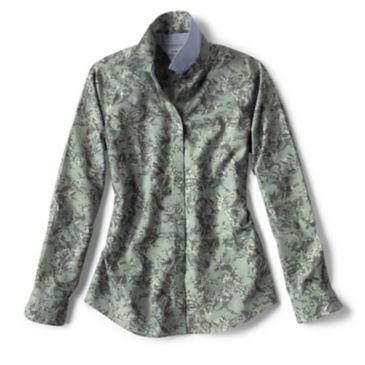 Wrinkle-Free Patterned Shirt -