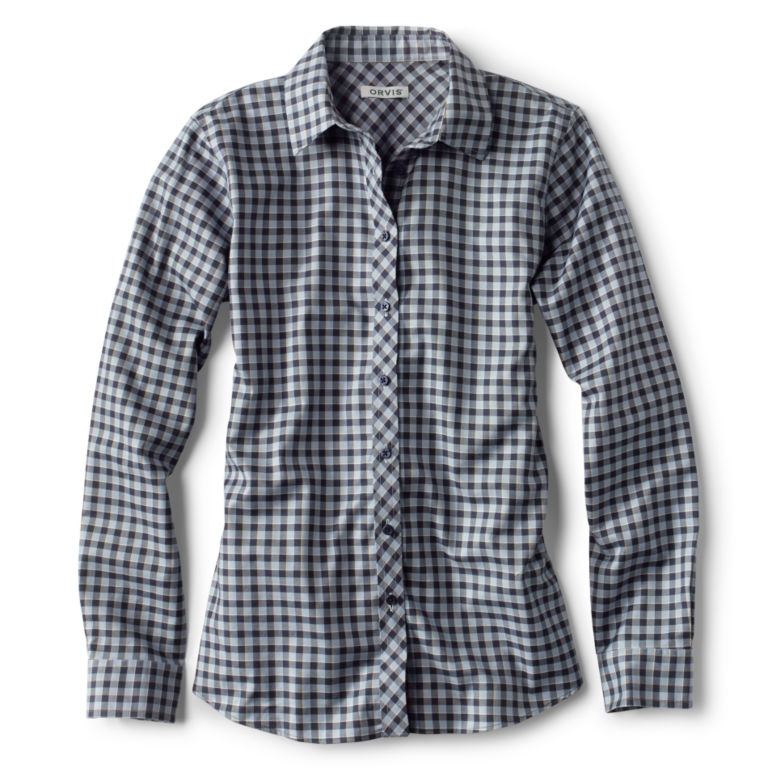 Wrinkle-Free Twill Check Shirt -  image number 0