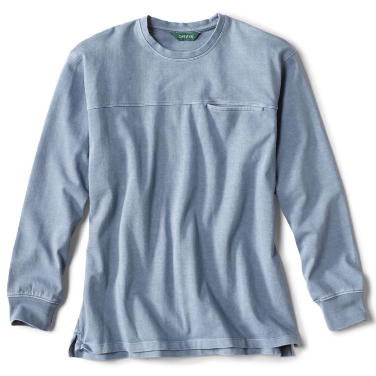 Light Heavyweight Pocket Long-Sleeved T-Shirt -  image number 0