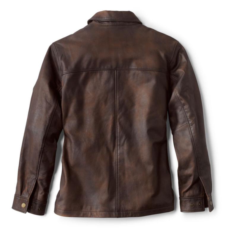 Brookfield Nappa Nubuck Jacket - BROWN image number 1
