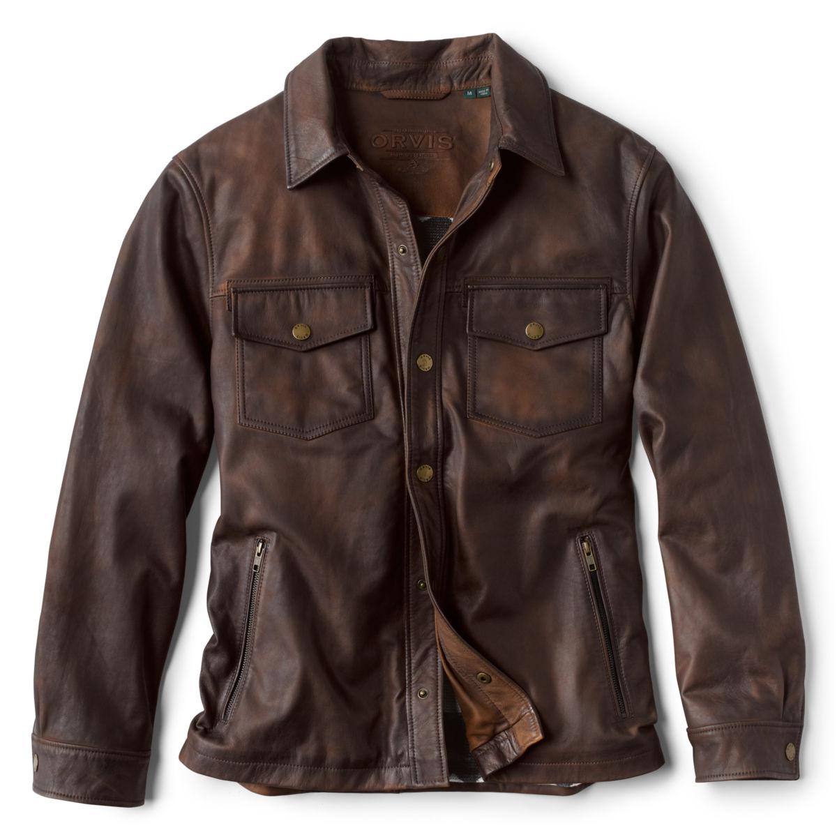 Brookfield Nappa Nubuck Jacket - BROWNimage number 0