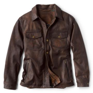 Brookfield Nappa Nubuck Jacket - BROWN image number 0