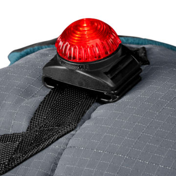 Tail Light Puffer Dog Jacket - DRAGONFLY image number 2