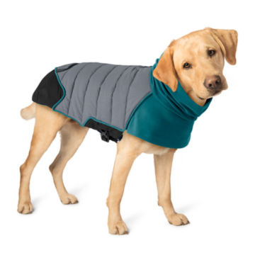 Tail Light Puffer Dog Jacket - DRAGONFLY image number 0