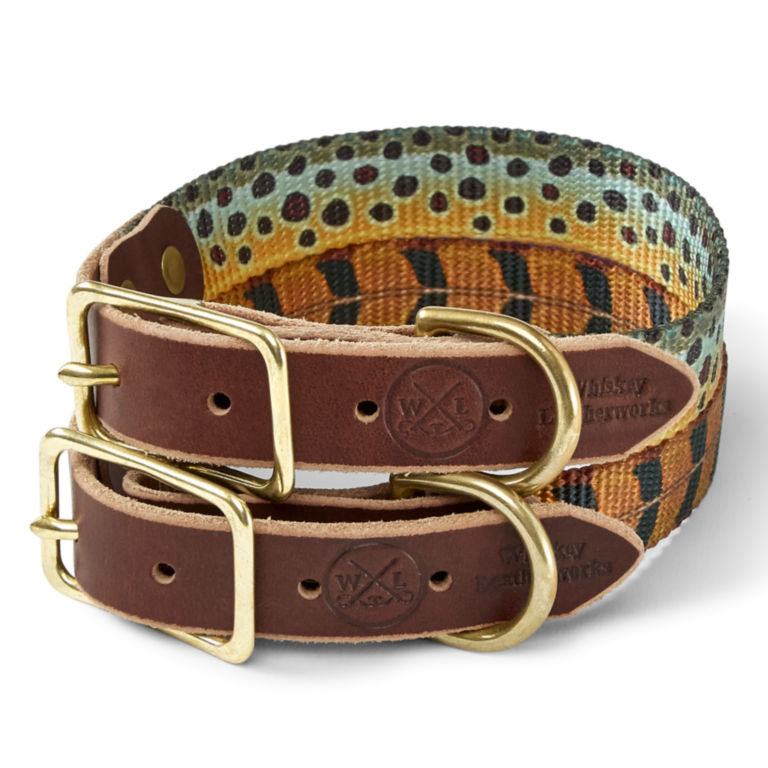 Whiskey Leather Works Collar -  image number 0