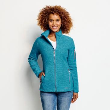 Striped Fleece Jacket -
