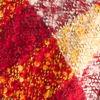 Bouclé Plaid Scarf - RED PLAID