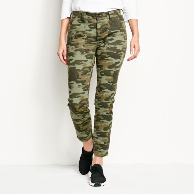 Printed Four-Way Stretch Ramble Utility Pants -  image number 0