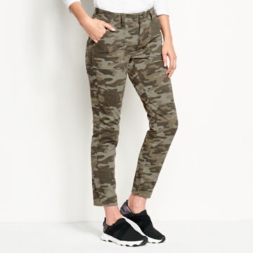 Printed Four-Way Stretch Ramble Utility Pants - CAMO PRINT image number 1