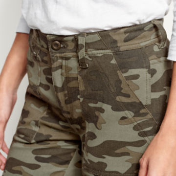 Printed Four-Way Stretch Ramble Utility Pants - CAMO PRINT image number 3