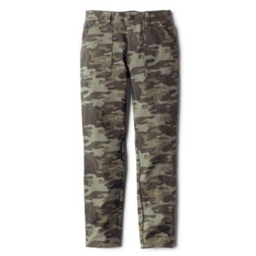 Printed Four-Way Stretch Ramble Utility Pants -