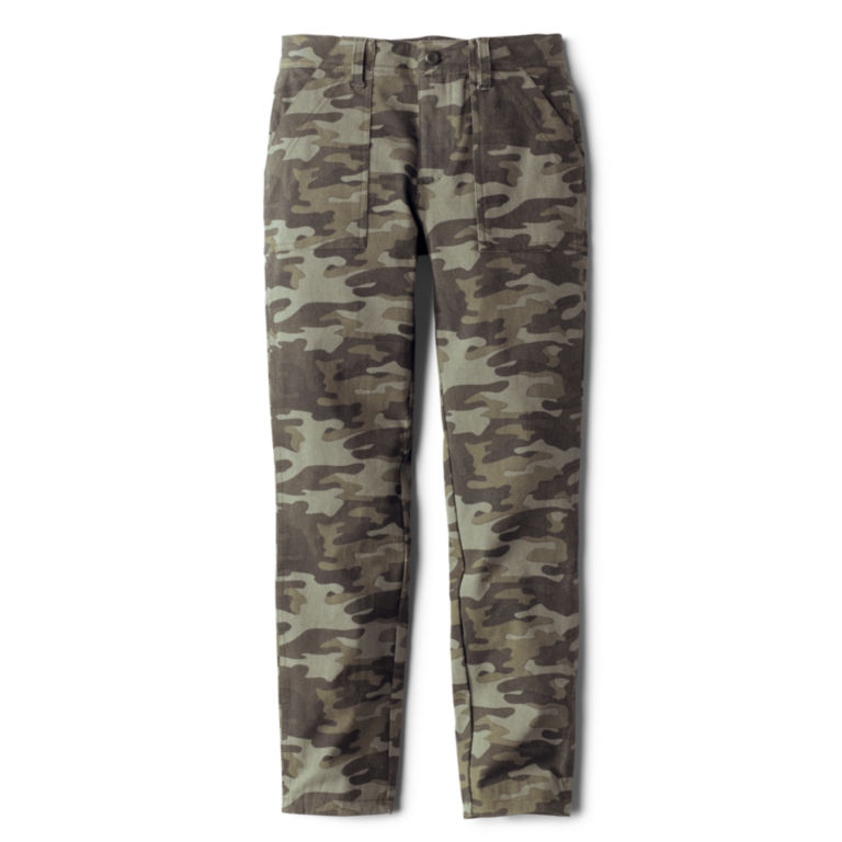 Printed Four-Way Stretch Ramble Utility Pants - CAMO PRINT image number 0