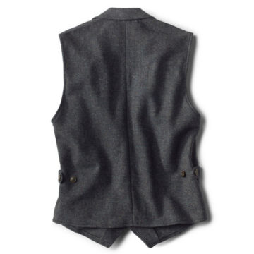 Casual Wool Unconstructed Vest - CHARCOAL image number 1