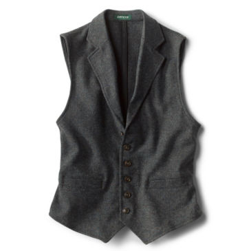 Casual Wool Unconstructed Vest -