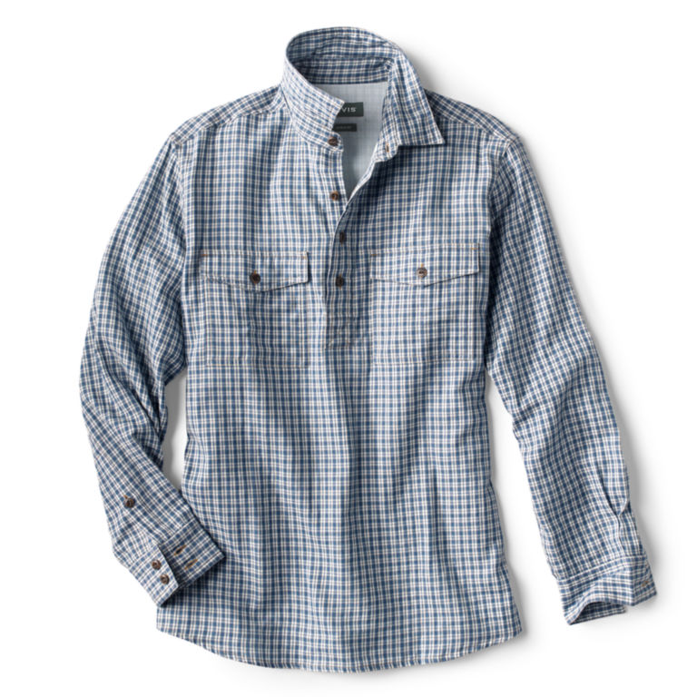 Double-Faced Popover Long-Sleeved Shirt -  image number 0