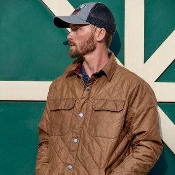 Bethel Waxed Cotton Shirt Jacket -  image number 3