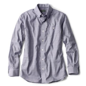 Hidden Button-Down Wrinkle-Free Comfort Stretch Shirt -