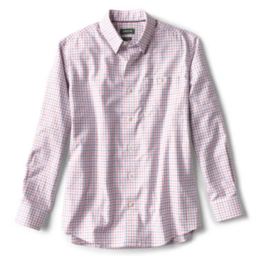 Hidden Button-Down Wrinkle-Free Comfort Stretch Shirt - Regular -  image number 0