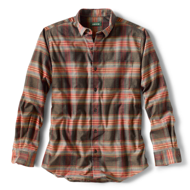 Cotton/Merino Performance Long-Sleeved Shirt - Regular -  image number 0