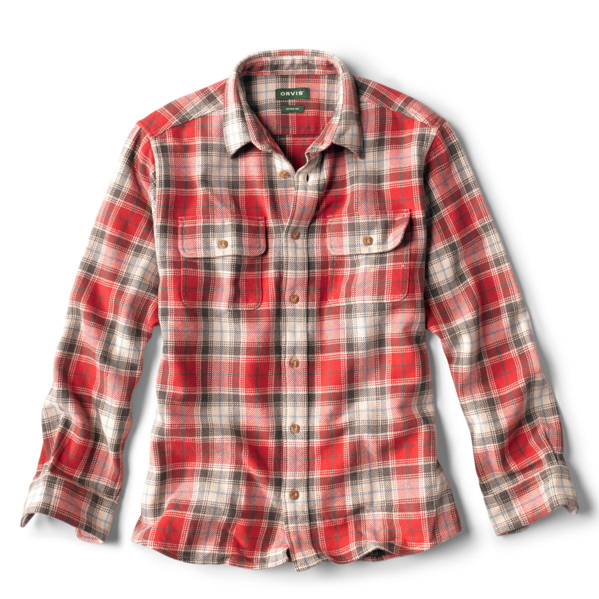 Ketti Steep Twill Long-Sleeved Shirt - WEATHERED REDimage number 0