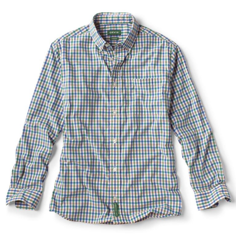 Beacon Stretch Plain Weave Long-Sleeved Shirt -  image number 0