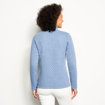 Placed Quilted Quarter-Zip Sweatshirt -  image number 2
