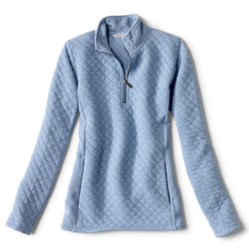 Placed Quilted Quarter-Zip Sweatshirt -  image number 5