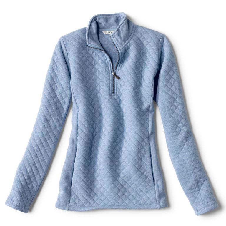 Placed Quilted Quarter-Zip Sweatshirt -  image number 5