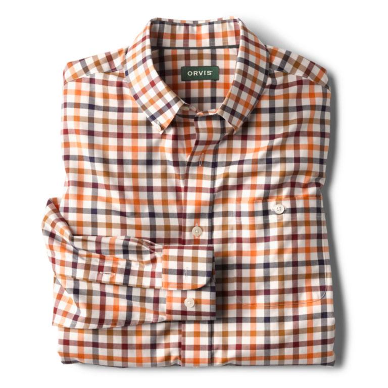 Wrinkle-Free Stretch Long-Sleeved Shirt - Regular -  image number 1