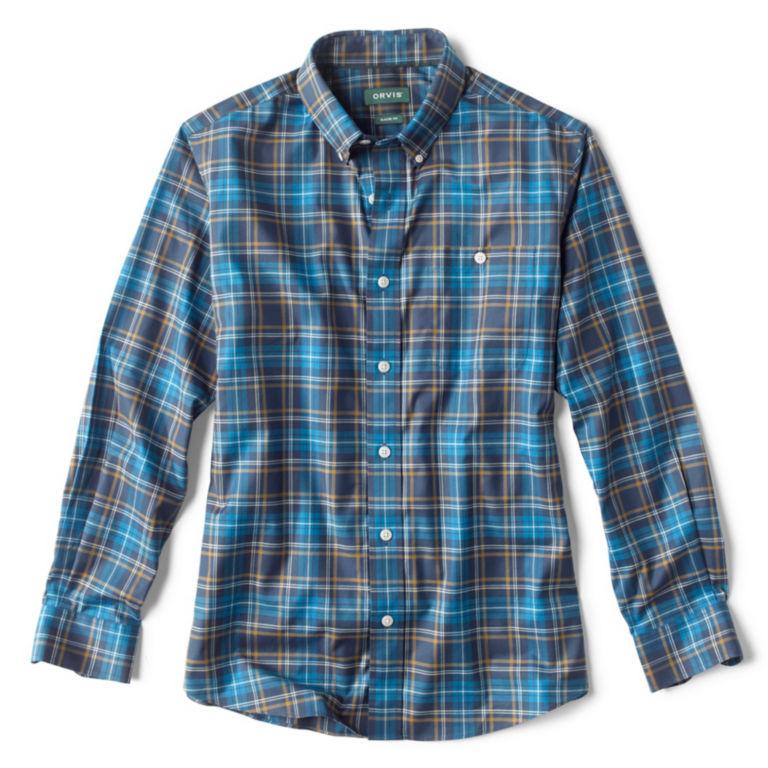 Wrinkle-Free Stretch Long-Sleeved Shirt - Regular -  image number 0
