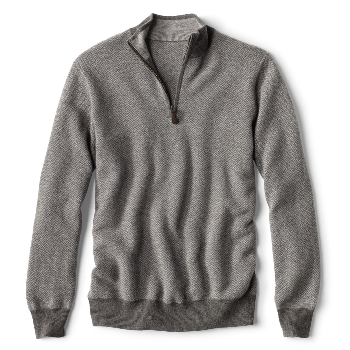 Cashmere Quarter-Zip Sweater - image number 0