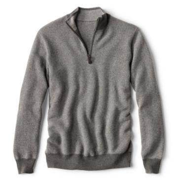 Cashmere Quarter-Zip Sweater -