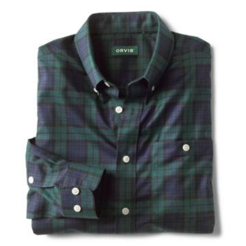 Tartan Wrinkle-Free Comfort Stretch Long-Sleeved Shirt -  image number 1