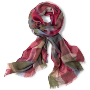 Homecoming Plaid Scarf -  image number 0