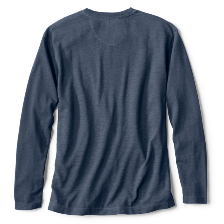 Pigment Printed Long-Sleeved T-Shirt -  image number 1