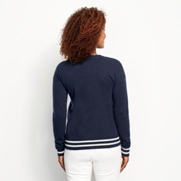 Cashmere Embroidered Sweater -  image number 2