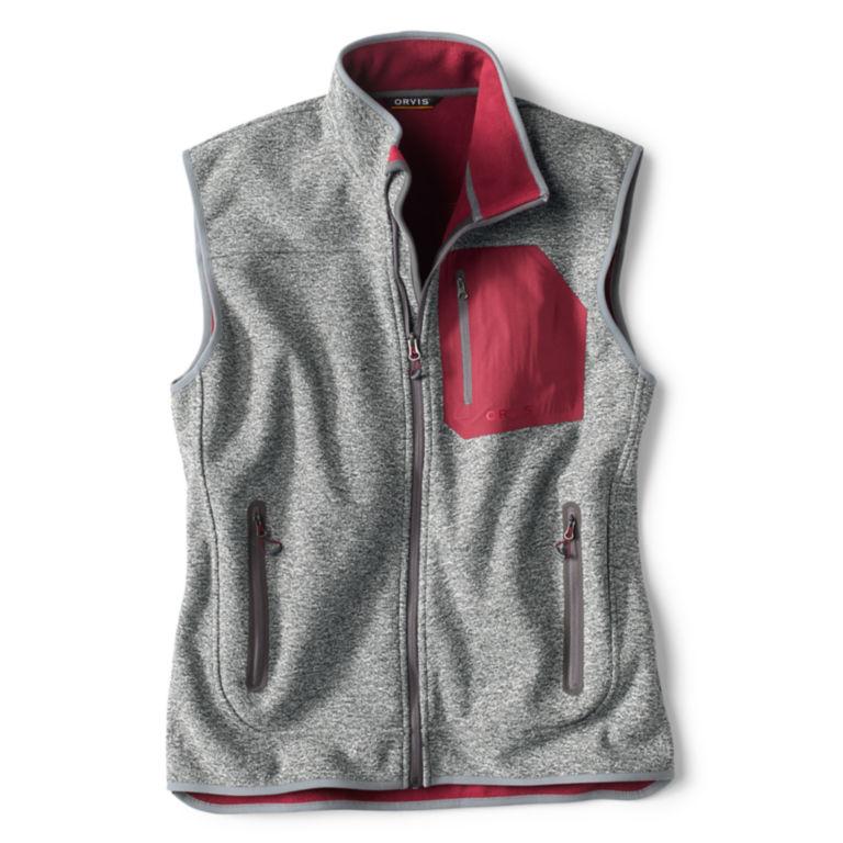 Windproof Sweater Fleece Vest -  image number 0
